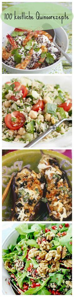 Die nährstoffreichen und glutenfreien Körnchen sind super gesund und gelten deshalb als Superfood gefeiert. Klickt euch durch unser Kochbuch und wählt eure Favoriten! | http://eatsmarter.de/rezepte/rezeptsammlungen/quinoa-fotos#/0