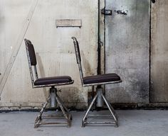 Dusty Deco; office chair from the former Eastern Bloc