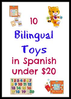 10 Bilingual Toys in