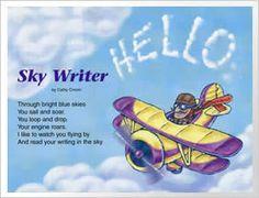 Sky Writer poem by Cathy Cronin