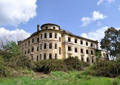 Abandoned orphanage, Rome, Italy