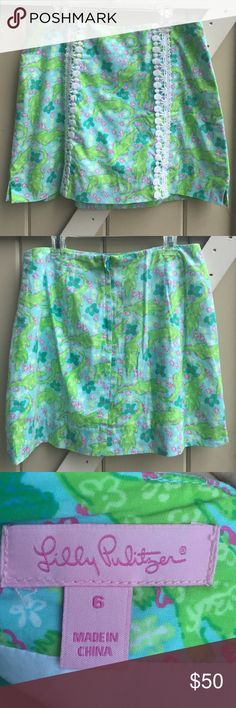 Lilly Pulitzer Alberta Gator Skort 🐊🌸🌺 In excellent condition! Bright colors. Lilly Pulitzer Skirts