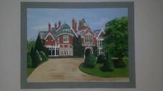 a familiar sight to Milton Keynes residents. Bletchley Park, Care Homes, Milton Keynes, Creative Art, Murals, Original Art, Design, Decor, Creative Artwork