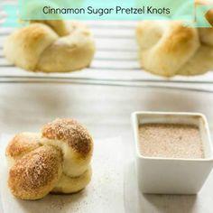 Cinnamon Sugar Pretzel Knots Recipe - ZipList