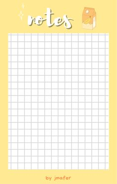 Note pads - jmafer