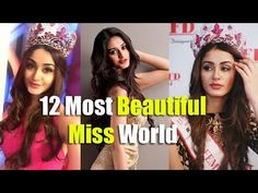 All The Time! Top 12 Most Beautiful Miss World - Zofay Texaw