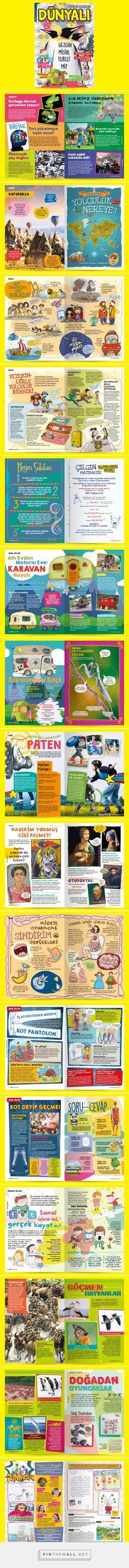 Dünyalı Dergi 15 - Dünyalı Magazine for kids on Behance... - a grouped images picture - Pin Them All