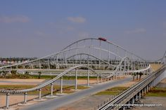 Formula Rossa: World's Fastest Roller Coaster. Where is this? WAANT!