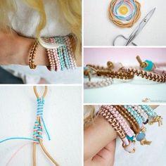 DIY bracelet zelf een armbandje maken www.mim-pi.com