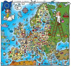 """One Europe, One Culture: """"United in diversity"""".  Short summary article about history of culture & values of Europe by Santino Santinelli"""