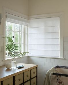 Photo Gallery Smith Noble Plain White Roman Blinds Mounted Inside Window Frame