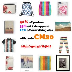 CYBER MONDAY SALE on my REDBUBBLE Shop too, Nov 30 only! 40% off posters. 35% off kids apparel. 20% off everything else with code CM20.  #cybermonday #sale #discount #specialoffer #realbargain #holidayshopping #christmasshopping #decor #stationaries #apparel #fashion #art #wallart #bags #calendar #tee #leggings #duvetcover #skirt #giftideas #giftforher #giftforhim #artshop ##artsyhomes #beautifulhomes…