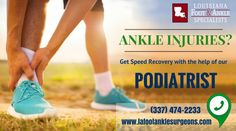 Ankle Injury Specialists in Lake Charles