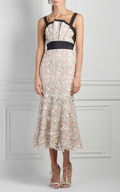 Birth Of Venus Midi Dress by JOHANNA ORTIZ for Preorder on Moda Operandi