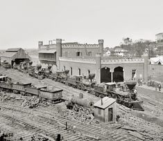Nashville: 1864 - this is interesting. My parents grew up near here and I go to Nashville to see family every year. Hard to believe it once looked like this.