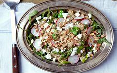 Quinoa Fava Salad