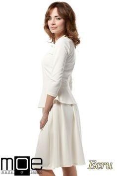 Rozkloszowana spódniczka mini marki MOE.  #cudmoda #moda #ubrania #odzież #clothes #rucke #kleidung