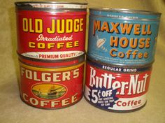 Coffee cans❤❤