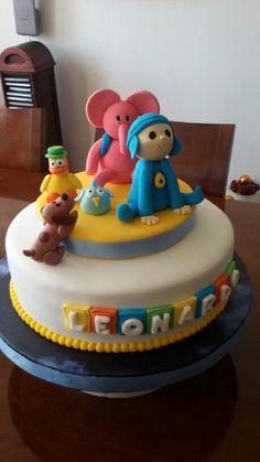 Cake Pocoyo fondant