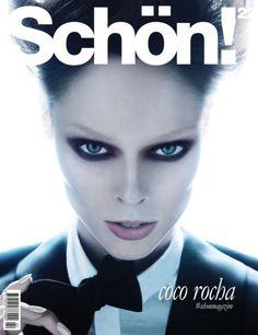 Coco Rocha para Schön!, Septiembre 2013
