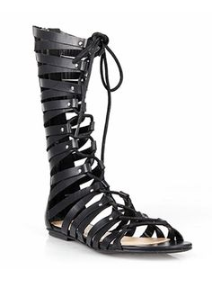 Cleo Strappy Gladiator Sandals (2 colors)