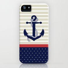 Navy iPhone & iPod Case by studio VII - $35.00 http://society6.com/vivinicolin/Navy-Kh3_iPhone-Case