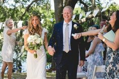 Designer/Planner: Dandy Details Events Bohemian Chic Green Wedding