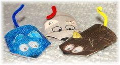 Top il topolino: creare giochiattoli con il cartone