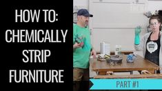 How to Refinish a Dining Table - Chemically Strip a Table PART - Meet. A Table, Dining Table, Furniture Makeover, Channel, Meet, Cleaning, Interiors, Youtube, Dining Room Table
