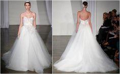 Inspiração: decotes tomara que caia #vestido de noiva #weddingdress