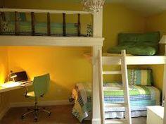 Platform bunk beds idea