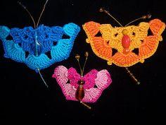 Tony's Handwerkblog: vlinders haken