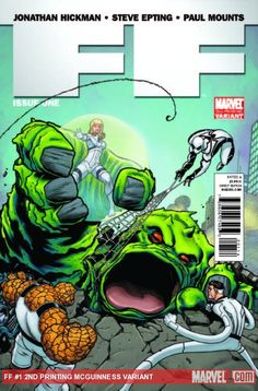 FF #1 (2nd Print McGuiness Variant)
