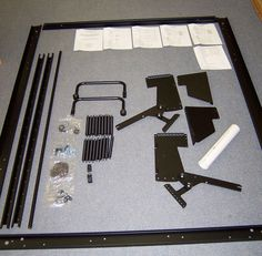 DIY Kits by Lift & Stor including wall bed kits, hidden bed kits, and storage bed hardware kits. The DIY kits also come with instructions. Murphy Bed Ikea, Murphy Bed Plans, Murphy Bed Hardware, Hideaway Bed, Space Saving Beds, Modern Murphy Beds, Bed Wall, Decorate Your Room, Diy Bed