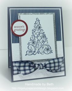 CCC12, Night of Navy Tree... by bigsky - Cards and Paper Crafts at Splitcoaststampers