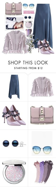 """""""Untitled #834"""" by pesanjsp ❤ liked on Polyvore featuring Sies Marjan, Chicwish, Valentino, Boohoo, Guerlain and Gucci"""