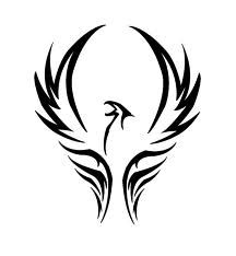 Phoenix tattoos - Google Search. This would be pretty in color!