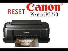How to Reset Canon IP2770 CARA RESET PRINTER CANON IP2770