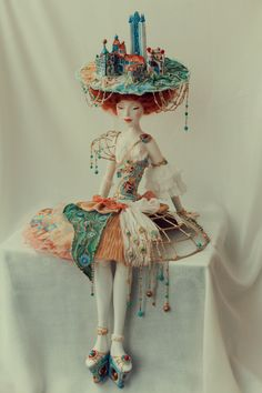 Even tho this is a doll I feel inspired Екатерина Лепихина-by Catarina Lipixina