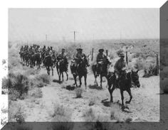 American Indian Wars | Cavalry: A unit of soldiersmounted on horseback; from the French word ...