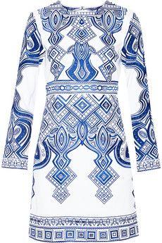 Pullover Motivo Zebra Fiori blu perline ricamo SUPER a Jeans Di IMAGINI