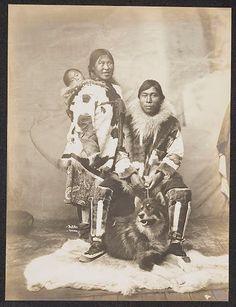 Inupiat family at Nome, Alaska - circa 1904 — with Wayne Drake