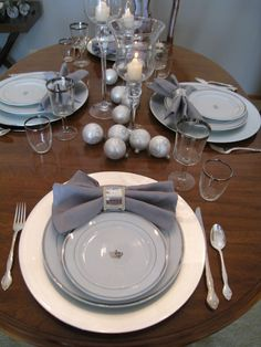 New Year's Engagement Party! Navy, Blue, Silver, White and Black. New Years Silver theme
