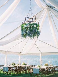 Amazing lakeside Montana venue: http://www.stylemepretty.com/montana-weddings/polson/2015/10/13/romantic-bee-themed-lakeside-wedding-in-montana/ | Photography: Jeremiah and Rachel - http://jeremiahandrachel.com/