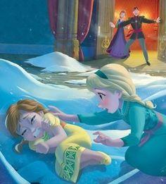 Frozen Book Art