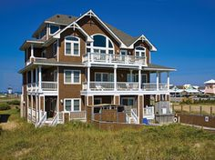 Island 39 s end 6 bedroom ocean front home in hatteras obx for Hatteras cabins rentals