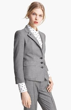 Band of Outsiders Bird's Eye & Houndstooth Schoolboy Blazer available at #Nordstrom