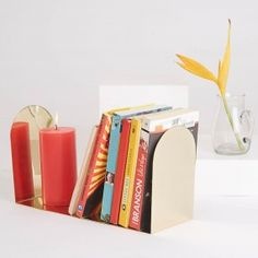 Minimal Gold Bookends
