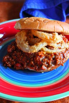 Guy Fieri sure does know how to make a mean Sloppy Joes Sandwich. I will never go back to Manwich after this recipe.
