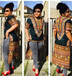 Check out this item in my Etsy shop https://www.etsy.com/uk/listing/252458618/unique-dashiki-dress-top